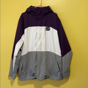 DC Colorblock Snowboard Jacket size L